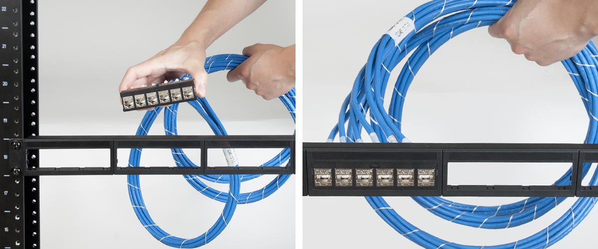 Cablesys Pre-terminated Patch Panel - Bezel